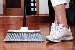 Száraz padlótisztítás