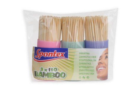3x110 Bamboo fogpiszkáló