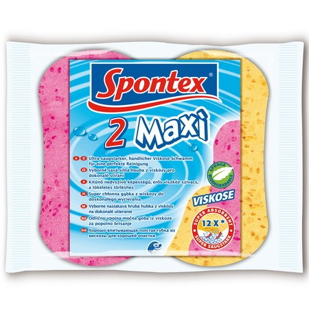 2 Maxi cellulóz szivacs